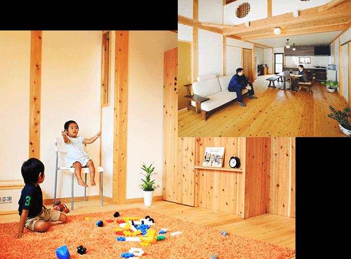 豊田市「中垣建設」の健康を考えた自然素材の注文住宅