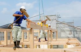 豊田市の自社大工による注文住宅の施工