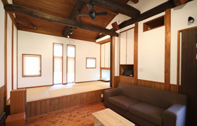 豊田市のおしゃれなデザインの注文住宅