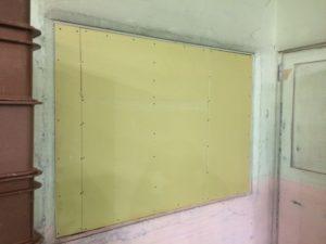 豊田市 工場内の開口部をふさぐリフォーム