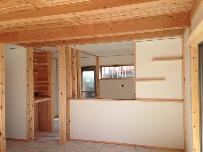 知立市の注文住宅で自然素材の家を建てた施工事例