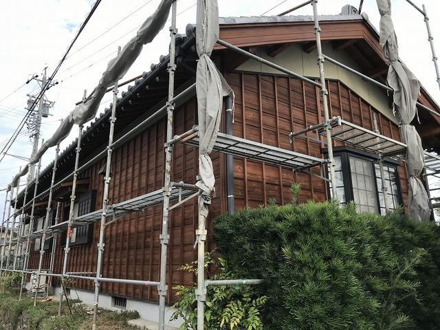豊田市 外壁塗装 木の塗装