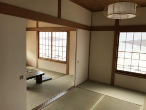 豊田市のリノベーション 平屋建てのおしゃれな和室
