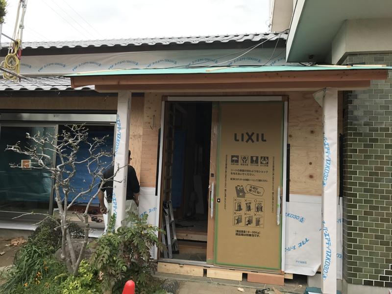 豊田市 屋根の葺き替え 内部全面リフォーム 外構工事