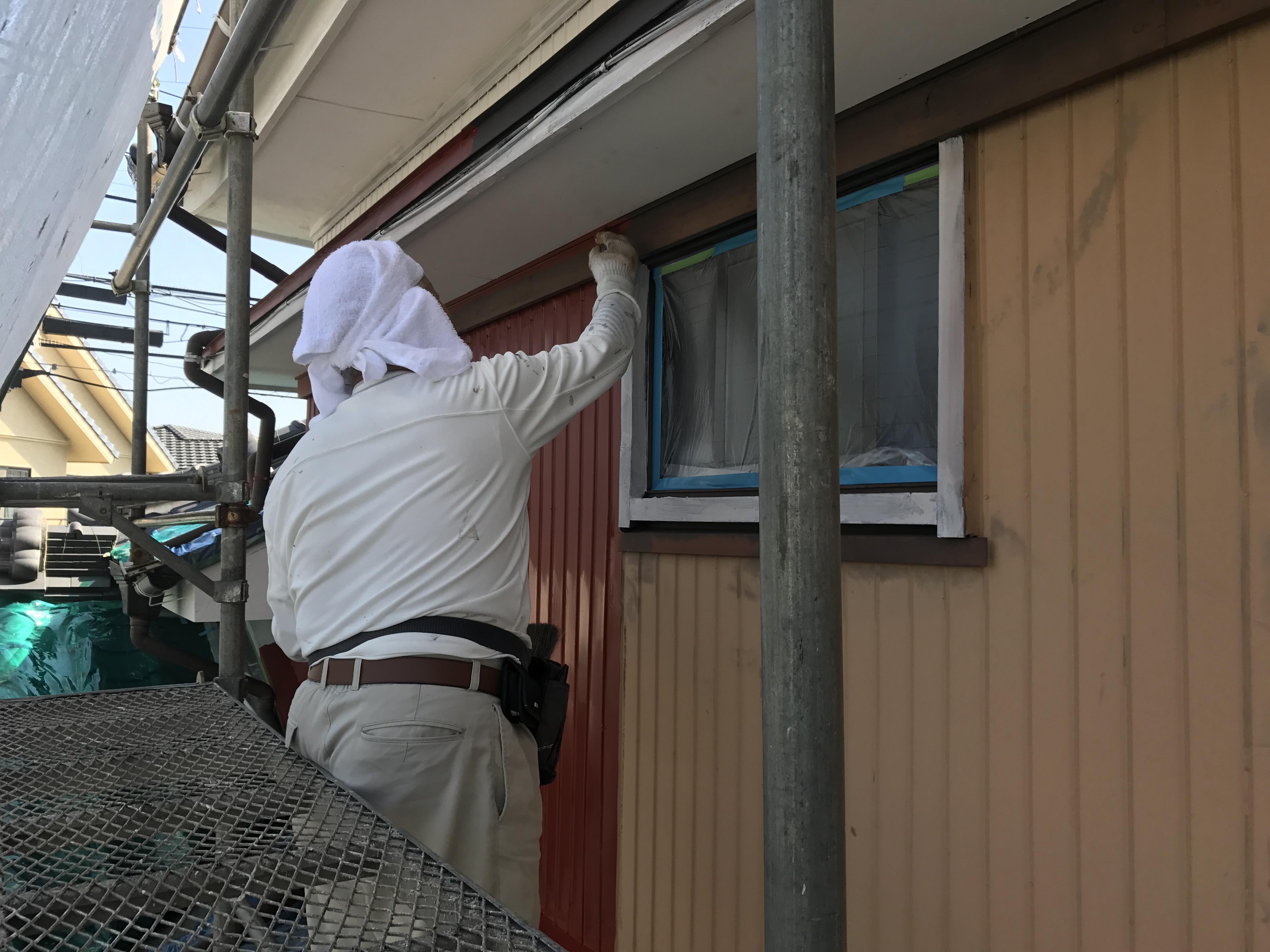 豊田市で一戸建ての外壁リ塗替えリフォーム施工事例