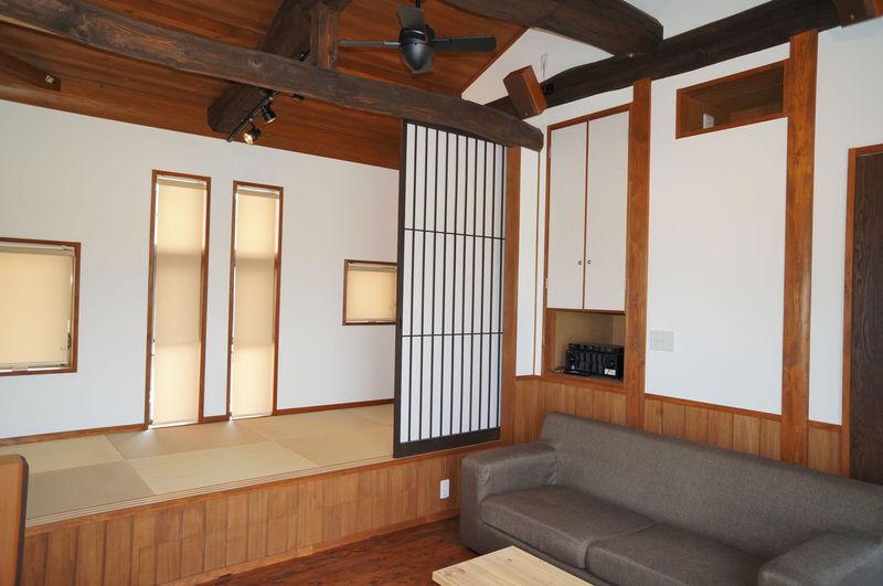 豊田市の古民家風リフォームの施工事例