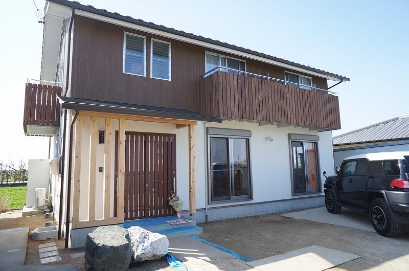 新築 雨楽な家 一戸建て住宅