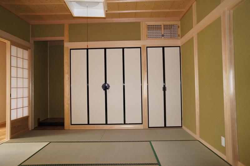 刈谷市の和風の平屋の家 和室