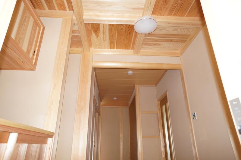 刈谷市で木材をふんだんに使用した平屋住宅