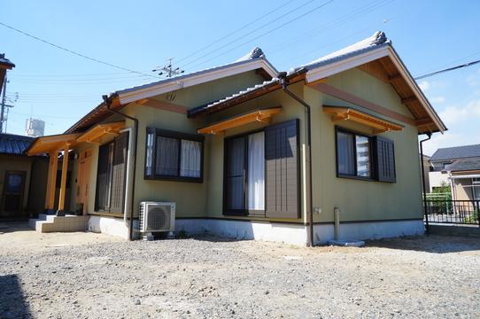 新築建替え 和風平屋建て