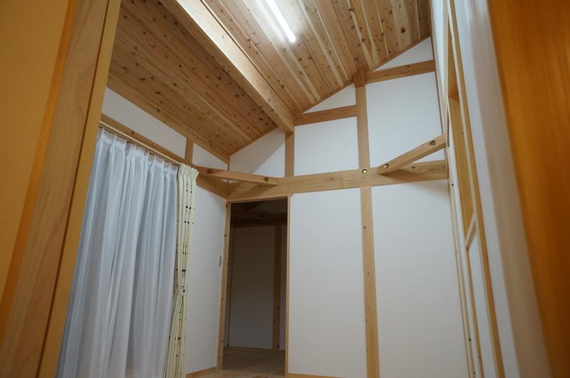 豊田市のガレージ付き新築住宅の施工事例