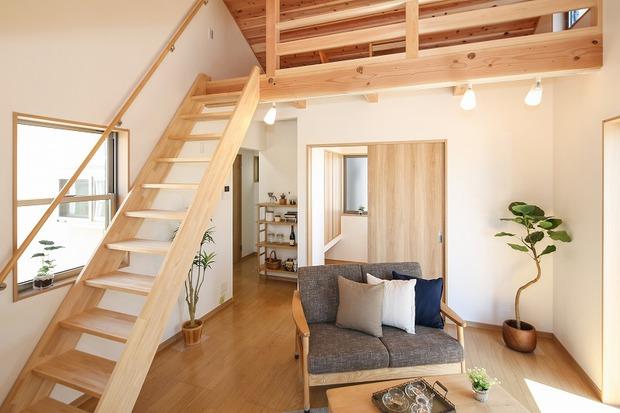 新築 ロフト付 木造平屋建て 注文住宅 A様邸 【完了】