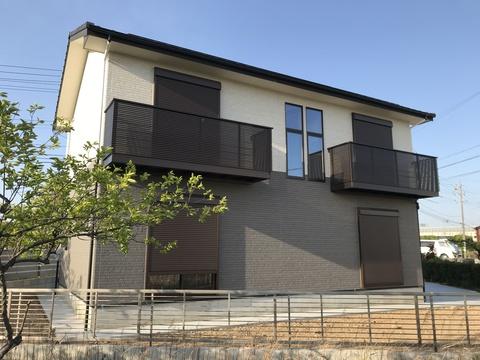 総2階住宅建替え+ガレージ倉庫