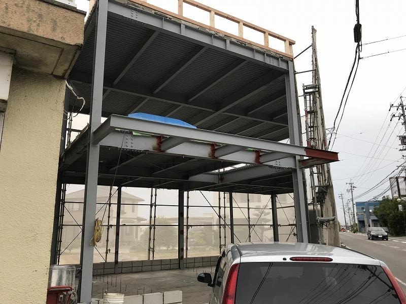 豊田市の鉄骨造のリフォーム・リノベーション施工事例