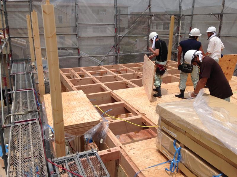 知立市の新築一戸建て施工事例 基礎