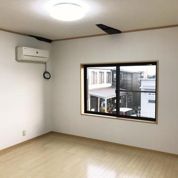 床・壁・天井リフォーム+建具の変更