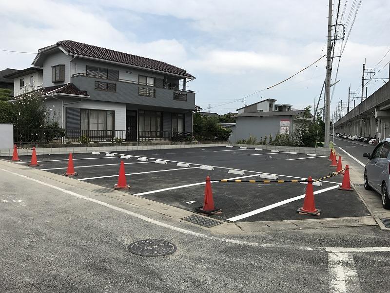 知立市 駐車場のリフォーム完成