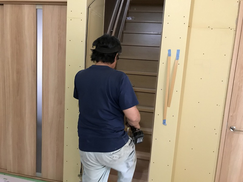 豊田市で室内のリフォーム工事の施工事例
