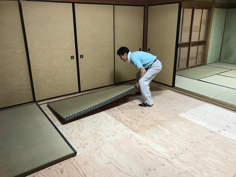 豊田市で床・畳のリフォーム工事の施工事例
