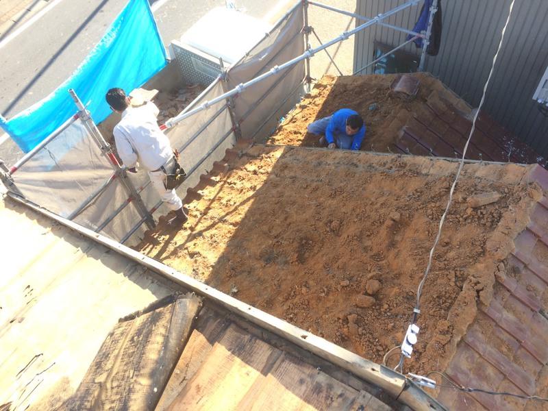 豊田市の屋根の葺き替え工事・屋根リフォームの施工事例