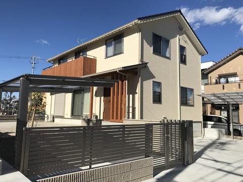 真壁、自然素材の家 注文住宅一戸建て【工事完了】