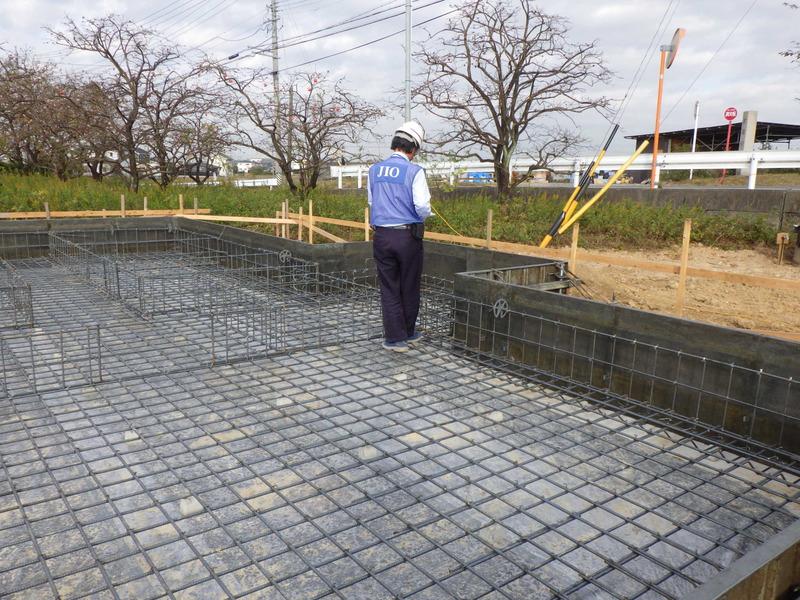 豊田市 新築一戸建て 建て替え 基礎工事