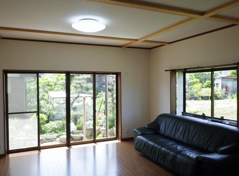 豊田市のリフォームの施工事例(居間)
