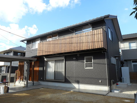 自然素材の家 新築住宅
