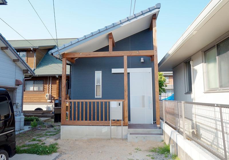 刈谷市で敷地内に離れの新築一戸建てを建設した事例