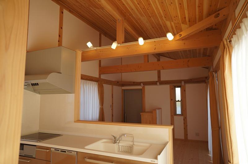 刈谷市の注文住宅のキッチン