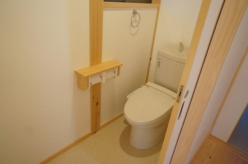 刈谷市の注文住宅のトイレ