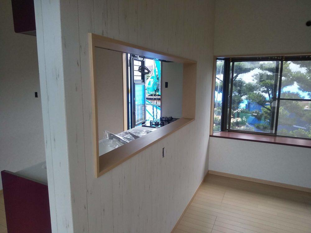 豊田市の自然素材の二世帯住宅の窓