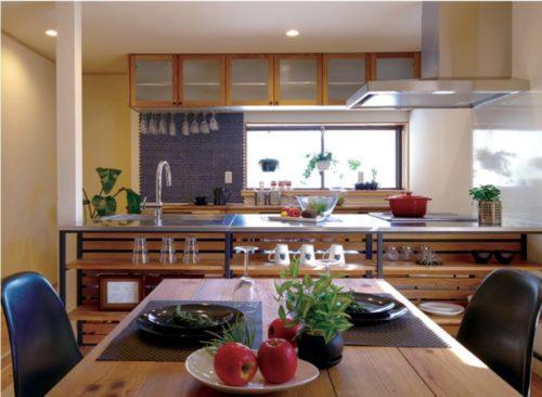 空間を利用して家の中でも緑を楽しむ