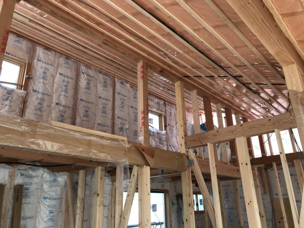 広々ロフトのある平屋住宅 只今建築中更新