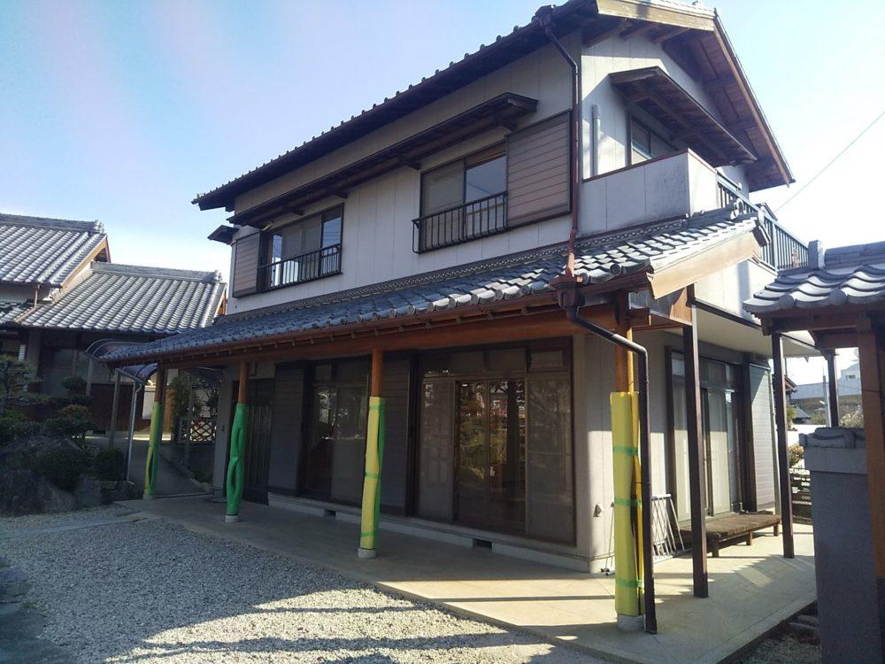 本格木造住宅の改修工事【工事完了】