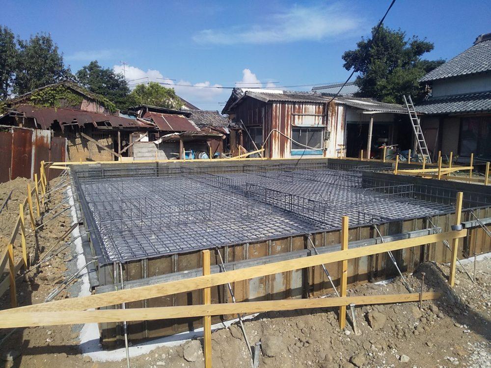 二間続きの平屋住宅工事始まりました
