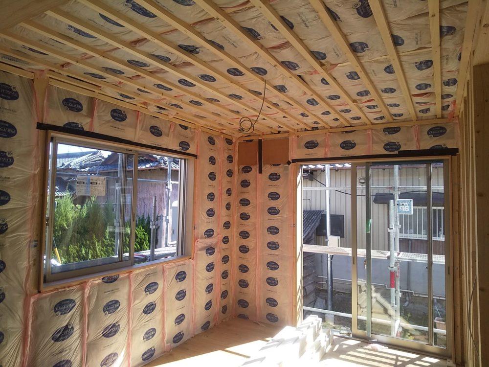 和室の続き間を設けた平屋の新築工事