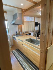 オリジナル木製キッチン