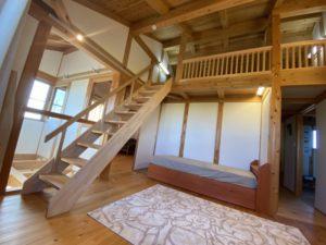階段付きロフト