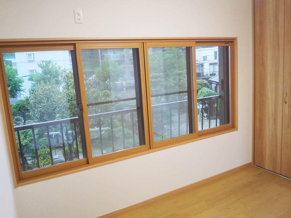 既設窓+断熱内窓の取付