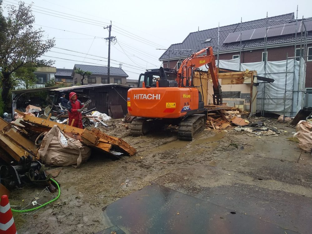 既設住宅解体 在来木造住宅へ