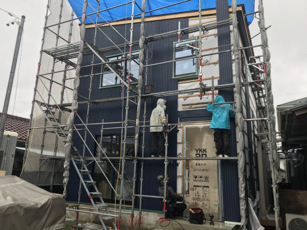 WOODBOX STNDERD2階建て只今建築中更新